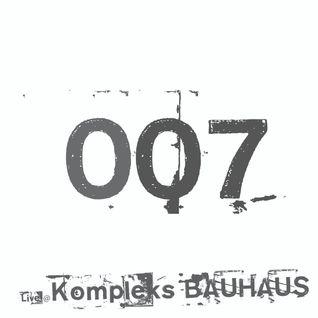 Technoise Radio 007 - Technoist @ Kompleks BAUHAUS