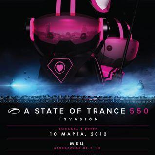 #ASOT550 - Omnia - Live at International Exhibition Center in Kiev, Ukraine (10.03.2012)