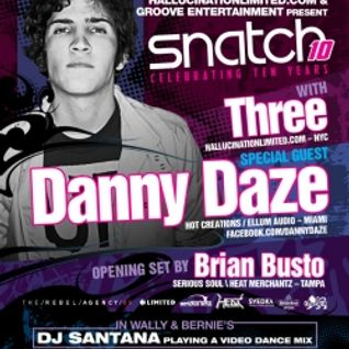 Danny Daze - Promo Mix for Feb. 10, 2012 at Snatch!