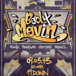 Body Movin' Mini Mix (March '13)