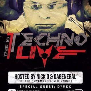 N.K.D - This IsTechno Live 011 nov 201