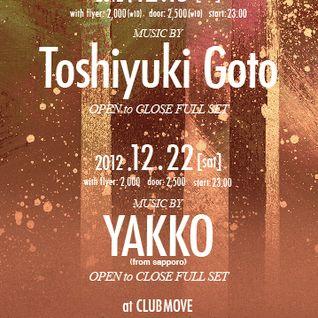 DJ TOSHIYUKI GOTO 2004.10.30 -HARMONY SPECIAL- @CLUB MOVE滋賀