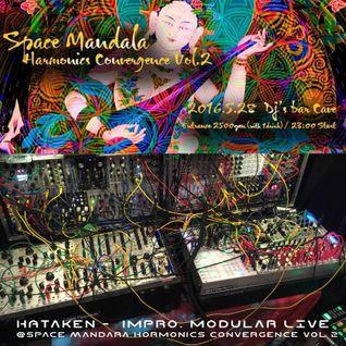 Hataken - impro. modular 1h live - Dance set @ Space Mandara Harmonics Convergence May28 2016