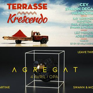 CEY @ Agregat By Celadopole, OPA, Paris, 040415 & Terrasse Krescendo, Paris, 250415