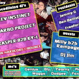 Defiance Unsung Heros Night 27.5.11 @ Base Bar, MC Kritical, Genius & Wagga