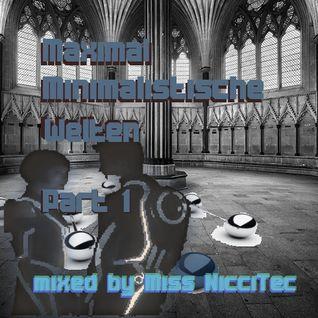 Miss NicciTec - Maximal Minimalistische Welten - Part 1