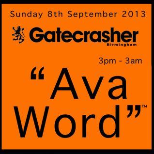 Ava Word™ Gatecrasher Promo CD