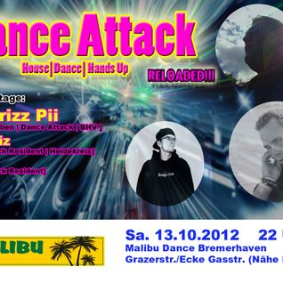 Dj Chrizz Pii live @ Dance Attack RELOADED 13.10.2012