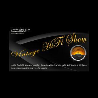 Massimo Garofalo intervistato da Price Faster presenta il Vintage HiFi Show, Radio Popolare, 11 icem