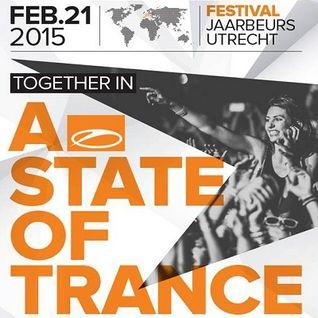 Armin van Buuren - Live @ ASOT 700 Festival, Mainstage 1 (Utrecht) - 21.02.2015