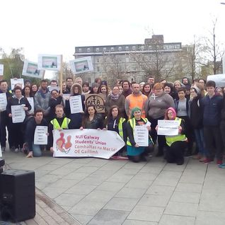 #iamareason Demonstration at Eyre Square 28042016 + Shari McDaid & Sharon Nolan Interviews