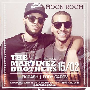 The MARTINEZ BROTHERS [live DJ-set], FULL MOON PARTY @ MOON ROOM [15.02.14]