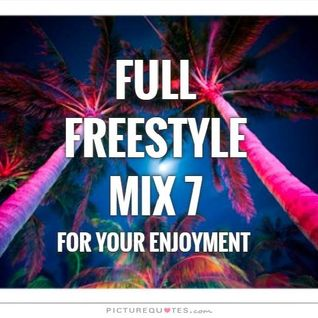 FULL FREESTYLE MIX 7 2015_DJ Carlos C4 Ramos