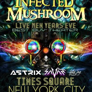 Lady Jay - New Year's Eve Opening Set @ Infected Mushroom w/Astrix & Savant