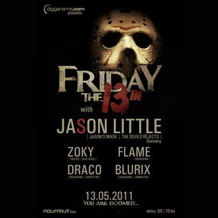 Blurix - Live @ Diggarama pres. Friday The 13th (Aquarius, Zagreb - 13.05.2011)