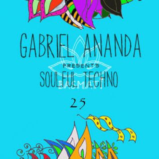 Gabriel Ananda  -  Soulful Techno 029 on DI.FM  - 20-Mar-2015