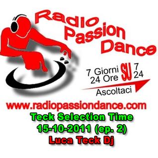 DJ Teck - Teck Selection Time 15-10-2011 (ep. 2)