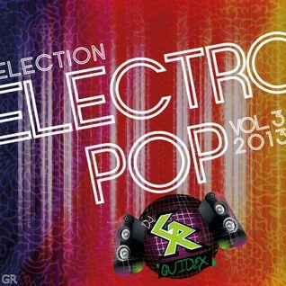 Dj GR Selection Electro pop vol.3 2013