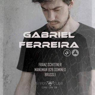 Gabriel Ferreira @ Sirius Club, Asunción 11.03.2016