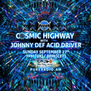 Cosmic Highway_27SEP2015 @ Pure Radio [Holland]