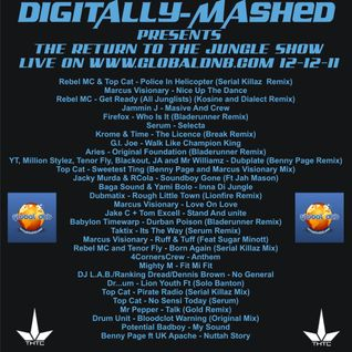 Digitally-Mashed Return To The Jungle Show live on www.globaldnb.com 12-12-11