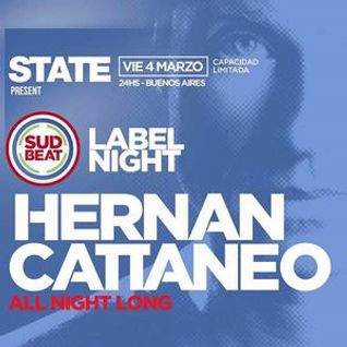 Hernan Cattaneo - Live at All Night Long, State, Buenos Aires, Argentina (04-03-2016) Part1