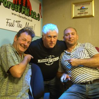 DJ Steve Stack Of Wax ~  ROCKIN' RADIO with my guests DJs Tom Owen & Marv Cooper ~ 9 September 15
