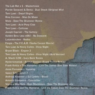 Dave The Drummer August Techno Mix 2011