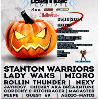 Guest69 @ Bass Music Festival, Peron 5, Szczecin (25-10-2014)