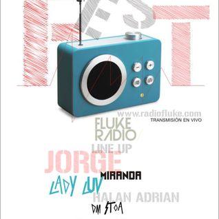 Dj Jorge Miranda (live broadcast recording) Radio Fluke Fest 1.0