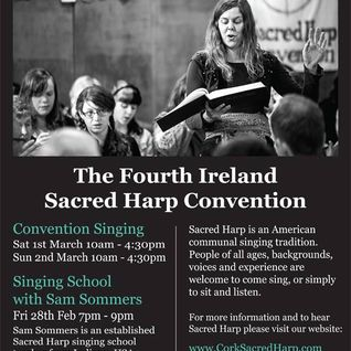 Cornerstone 4th Sacred Harp Ireland Convention (28th Feb 2014)