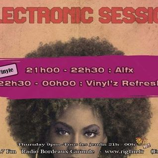 Electronic Session [18.09.2014] ALFX - VINYL'Z REFRESH