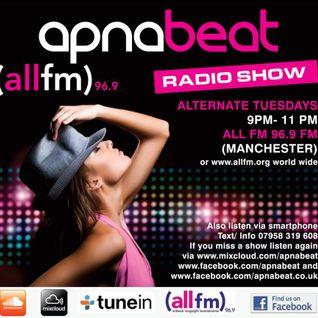 Apnabeat Radio Show- 12th August 2014 - DJ Ravi - DJ Micky