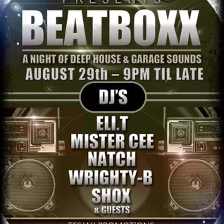 BEATBOXX 29th August 2015 - DJ Mister Cee - Live Recording
