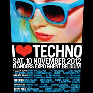 The Magician - Live @ I Love Techno 2012 (Ghent, Belgium) - 10.11.2012