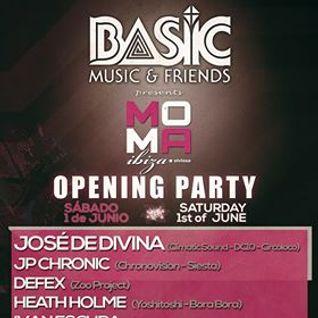 JP Chronic - Live at Moma Opening Party (Ibiza) - 02-Jun-2013