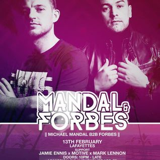 Mark Lennon - 2015 - Mandal & Forbes 13th February @Lafayette Nightclub