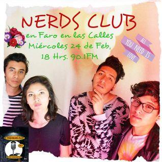 Faro en las calles entrevista a Nerds Club el día 24 de Febrero 2016 por Radio Faro 90.1 FM