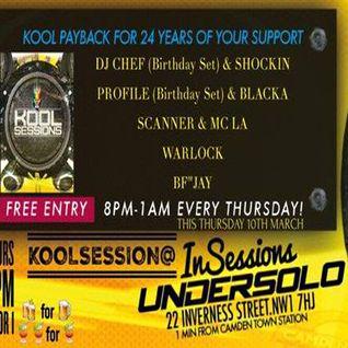 Warlock: Kool London 08 Mar 16 - Kool Sessions Warm Up