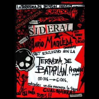 DJ Sideral @ Bataplán (San Sebastián) 14-08-2002