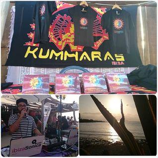 LOUIE VEGA & ANANE - SUNSET RITUAL @ KUMHARAS IBIZA - 1ST AUGUST 2014