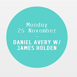 James Holden - Live at Daniel Avery Show, Rinse.fm 106.8 FM, London (25-11-2013)
