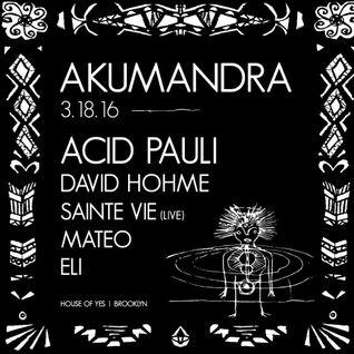 ELI @ AKUMANDRA (Opening Set)