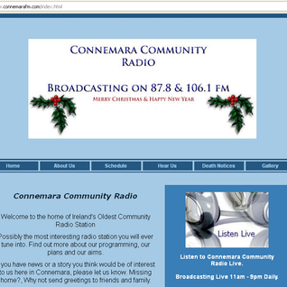 Connemara Community Radio - My Kind of Music with Martin Conroy - 21st December '11