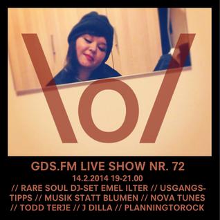GDS.FM LIVE SHOW Nr. 72 mit EMEL ILTER