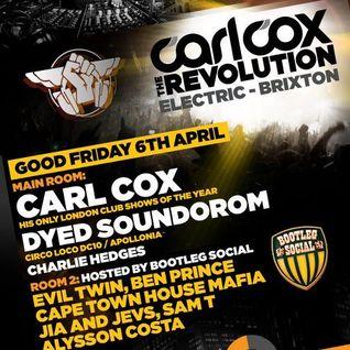Evil Twin Launch Party LIVE @ Carl Cox - The Revolution - London (April 2012)