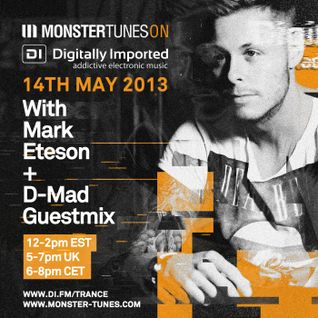 Monster Tunes Show 039 With Mark Eteson + D-Mad Guestmix