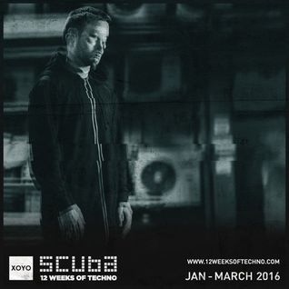 Scuba – 12 Weeks Of Techno Mix