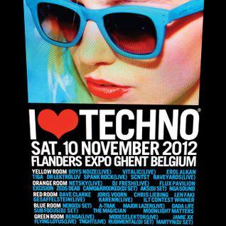Dave Clarke @ I Love Techno 2012 (10.11.2012)