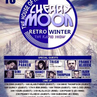Cherry Moon Winter édition The Radio Show DJ C.ced 16-01-2016